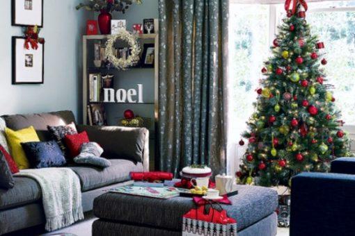 Como decorar una Casa de Infonavit en Navidad