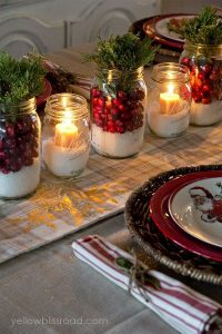Como preparar la mesa para fiestas navideñas