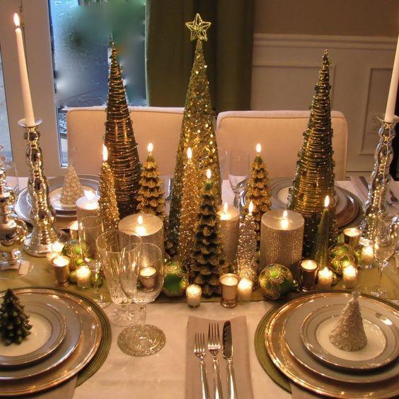 Como preparar la mesa para fiestas navide as decoracion - Decoracion fiesta navidena ...
