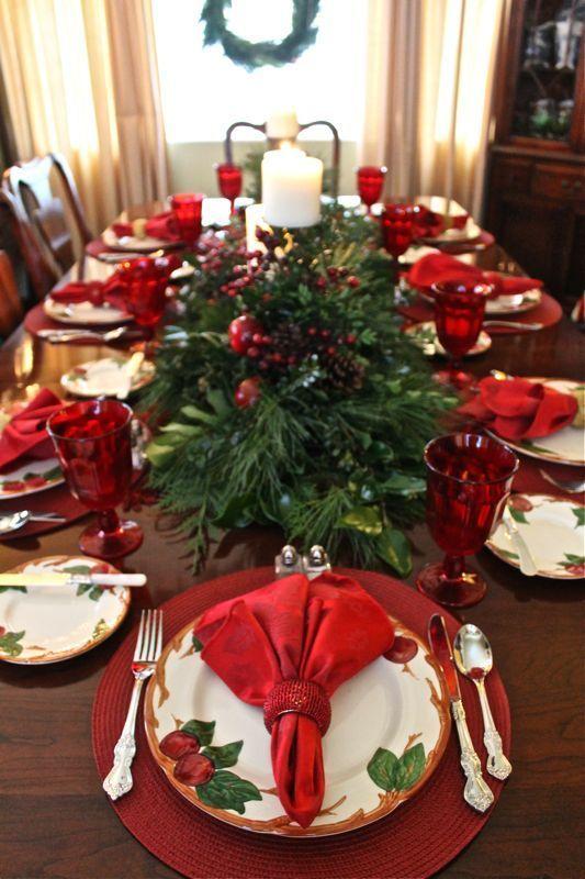 Como preparar la mesa para fiestas navide as curso de - Como preparar la mesa de navidad ...