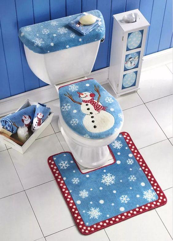 Ideas para decorar el ba o en navidad decoracion de interiores interiorismo decoraci n - Ideas para reformar el bano ...