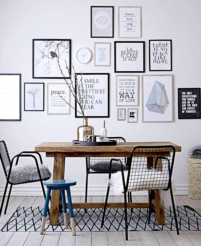 Ideas para decorar la pared del comedor 11 decoracion for Decora tu comedor
