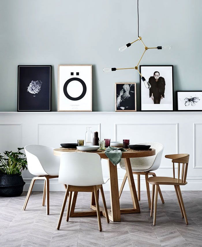 Ideas para Decorar la Pared del Comedor (9)