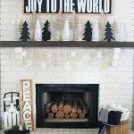 Ideas para decorar chimeneas esta navidad 2017 - 2018 (1)