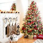 Ideas para decorar chimeneas esta navidad 2017 - 2018 (13)