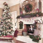 Ideas para decorar chimeneas esta navidad 2017 - 2018 (15)