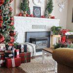 Ideas para decorar chimeneas esta navidad 2017 - 2018 (23)