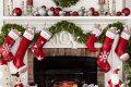 Ideas para decorar chimeneas esta navidad 2017 - 2018 (24)