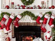 Ideas para decorar chimeneas esta navidad 2017 – 2018