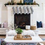 Ideas para decorar chimeneas esta navidad 2017 - 2018 (25)