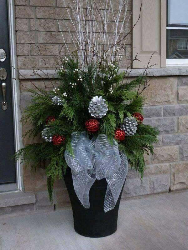 Ideas para decorar la entrada de tu casa esta navidad 2017 - 2018 (1)