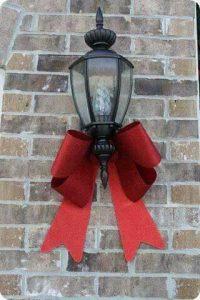 Ideas para decorar la entrada de tu casa esta navidad 2017 - 2018 (16)