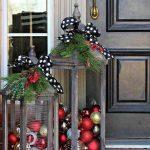Ideas para decorar la entrada de tu casa esta navidad 2017 - 2018 (18)