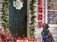 Ideas para decorar la entrada de tu casa esta navidad 2017 – 2018