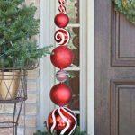 Ideas para decorar la entrada de tu casa esta navidad 2017 - 2018 (20)