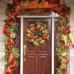 Ideas para decorar la entrada de tu casa esta navidad 2017 - 2018 (21)