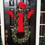 Ideas para decorar la entrada de tu casa esta navidad 2017 - 2018 (22)