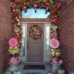 Ideas para decorar la entrada de tu casa esta navidad 2017 - 2018 (24)