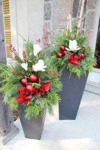 Ideas para decorar la entrada de tu casa esta navidad 2017 - 2018 (26)