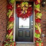 Ideas para decorar la entrada de tu casa esta navidad 2017 - 2018 (27)