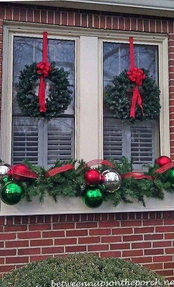 Ideas para decorar la entrada de tu casa esta navidad 2017 - 2018 (35)