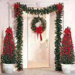 Ideas para decorar la entrada de tu casa esta navidad 2017 - 2018 (38)
