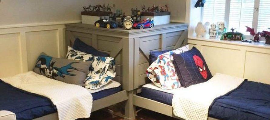 Ideas para decorar recamaras de gemelos