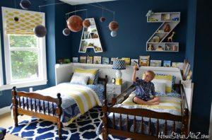 Ideas para decorar recamaras de gemelos (8)