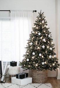 Bases rústicas paradecoracion de arbol de navidad 2019