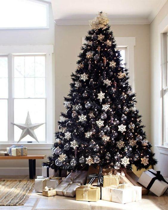 decoracion arbol de navidad 2018 - pinos negros (1)