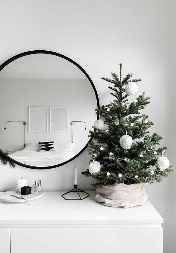 decoracion de arboles de navidad 2019 minimalistas (1)