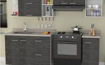 Decoracion de cocinas pequeñas con detalles en acero inoxidables