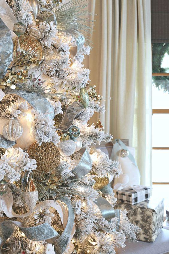 Decoraciones de navidad 2018 metálicas