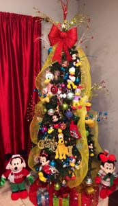 Decoración Navideña con Mickey Mouse