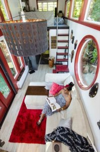 concepto de espacios abiertos en casas