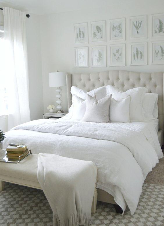 Cuartos en color blanco 2 decoracion de interiores - Habitaciones en blanco ...
