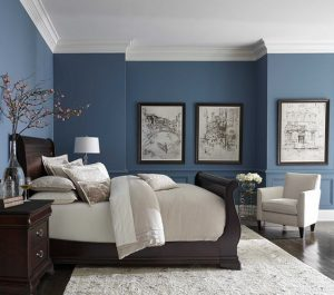 cuartos modernos azules (2)