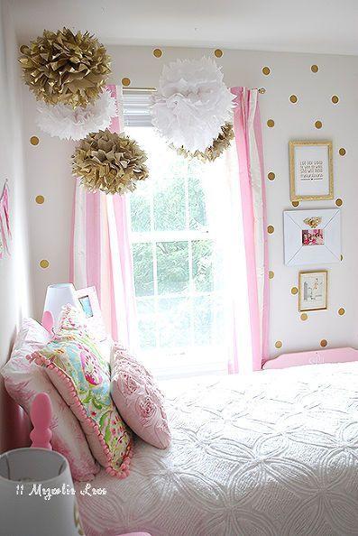 decoracion del cuarto de una nina