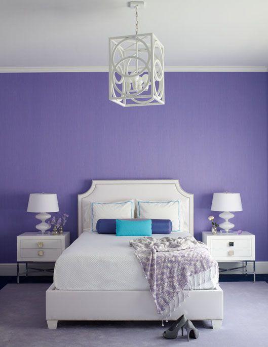 dormitorios modernos lilas (3)