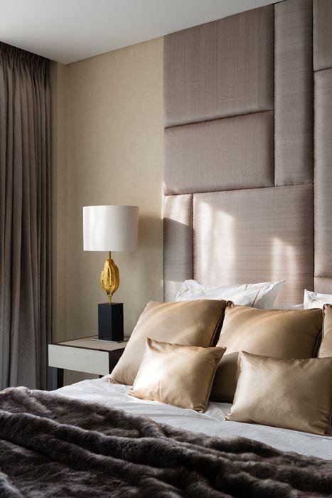 habitaciones modernas en color gris