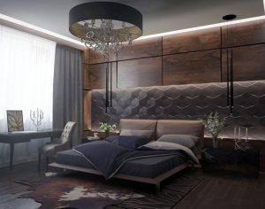 habitaciones modernas en color gris (4)