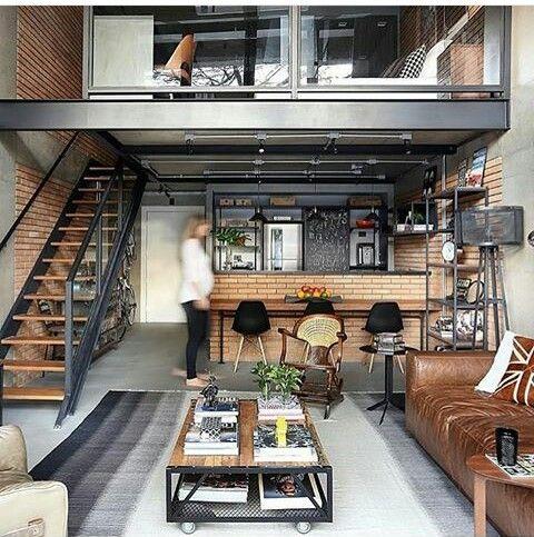 Tendencia en como decorar espacios abiertos para ste 2018 - Iluminacion para cocina comedor ...