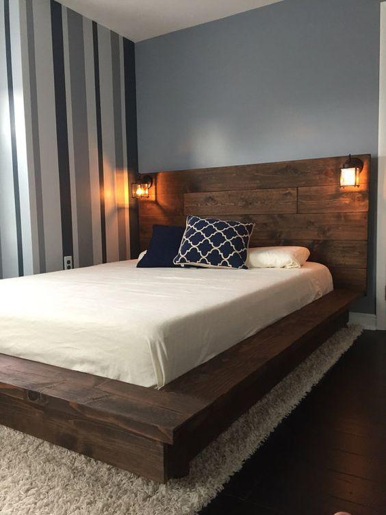 tendencias en decoraci n de rec maras modernas 2018 2019. Black Bedroom Furniture Sets. Home Design Ideas
