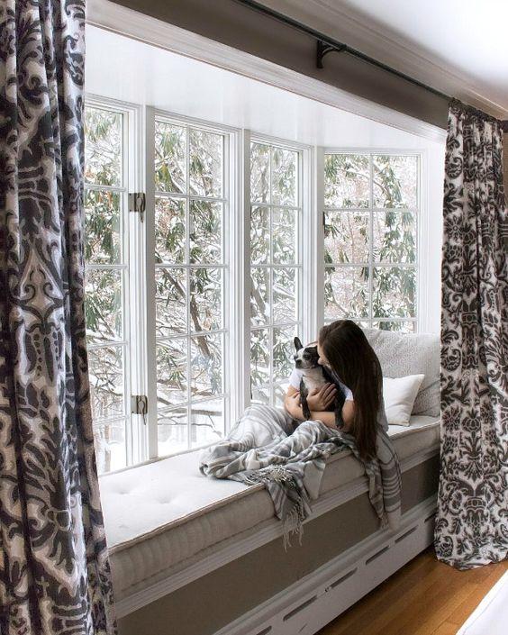 ventanas modernas con asientos en el interior (4)