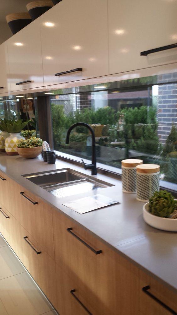 Tendencia en dise o de ventanas modernas 2018 2019 for Ventanas de aluminio para cocina