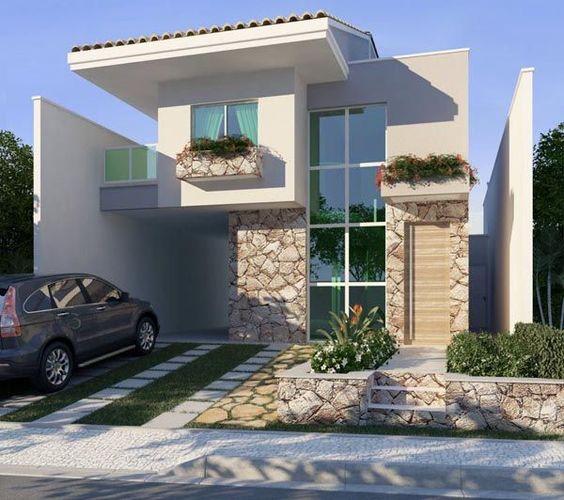 planos para casas de dos pisos