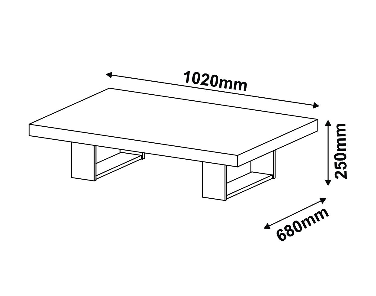 Altura ideal para mesa de centro