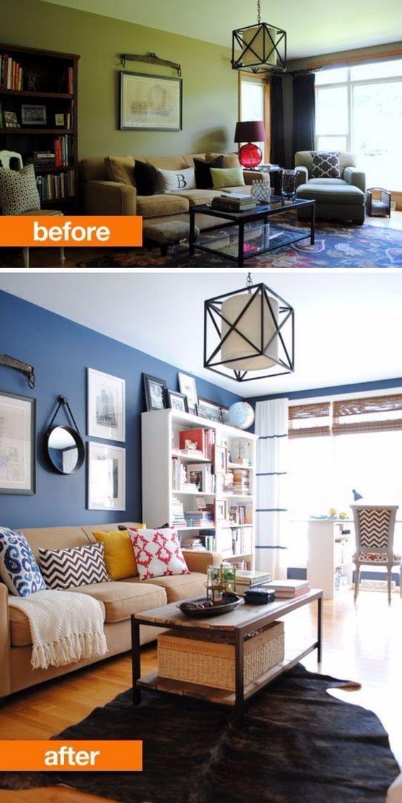 Casas reformadas antes y despues