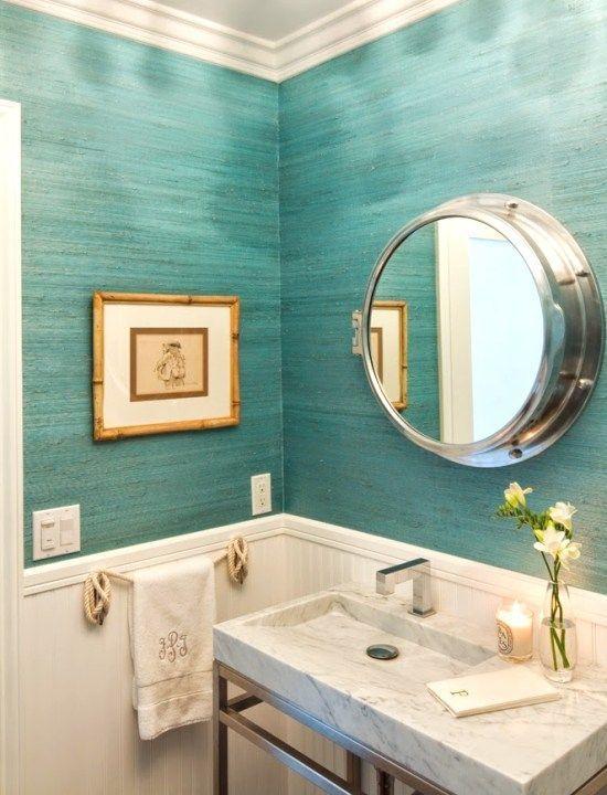 Colores de moda para paredes de baño