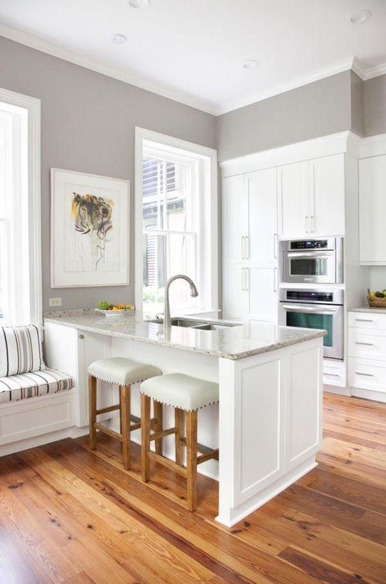 Colores de moda para paredes de cocina decoracion de for Colores de paredes interiores de moda